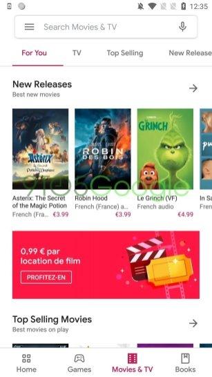 Приложение Google Play обновится с дизайном Material Theme3