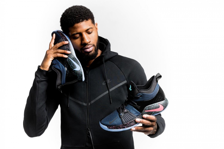 Nike выпустила кроссовки от баскетболиста Пола Джорджа и PlayStation1