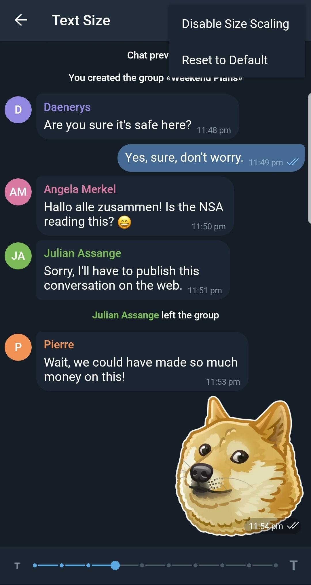 Telegram X для Android получил поддержку Android Pie4