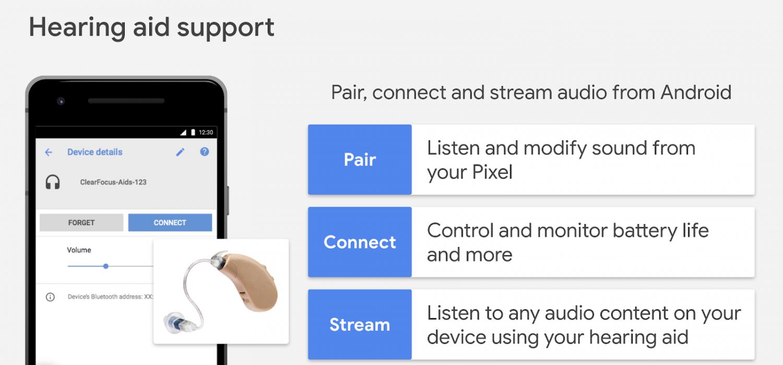 В Android появится поддержка слуховых аппаратов1