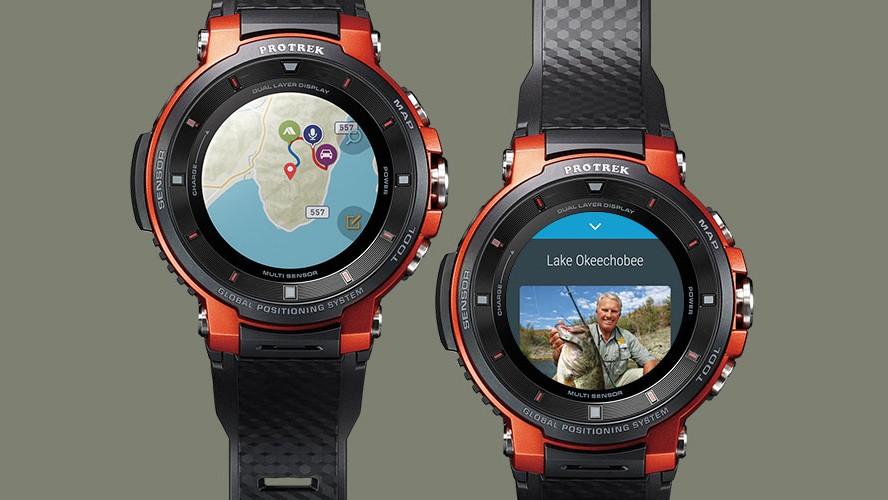 Умные часы Casio WSD-F30 протянут три дня без подзарядки