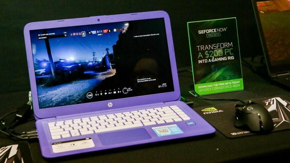 GeForce Now или как играть в игры на ноутбуке за 11 тысяч рублей
