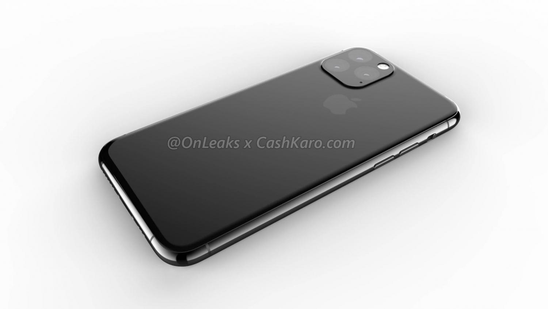 Рендеры iPhone 2019 года с камерой в форме треугольника8