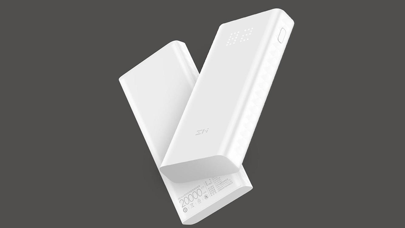 Xiaomi выпустила внешний аккумулятор ZMI Aura с мощностью до 27 Вт