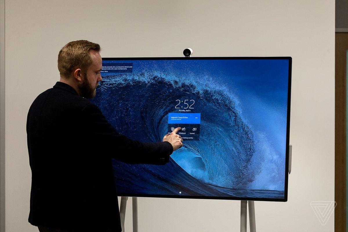 Microsoft Surface Hub 2S: 85-дюймовый дисплей для совместной работы3