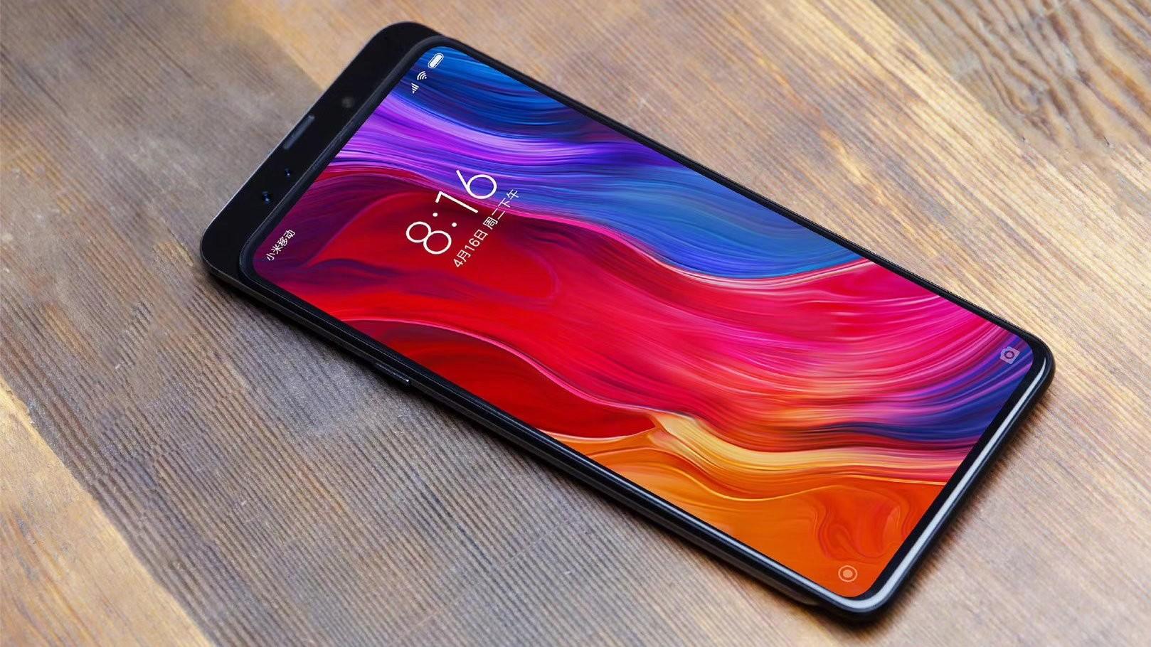 Первое официальное изображение Xiaomi Mi MIX 3