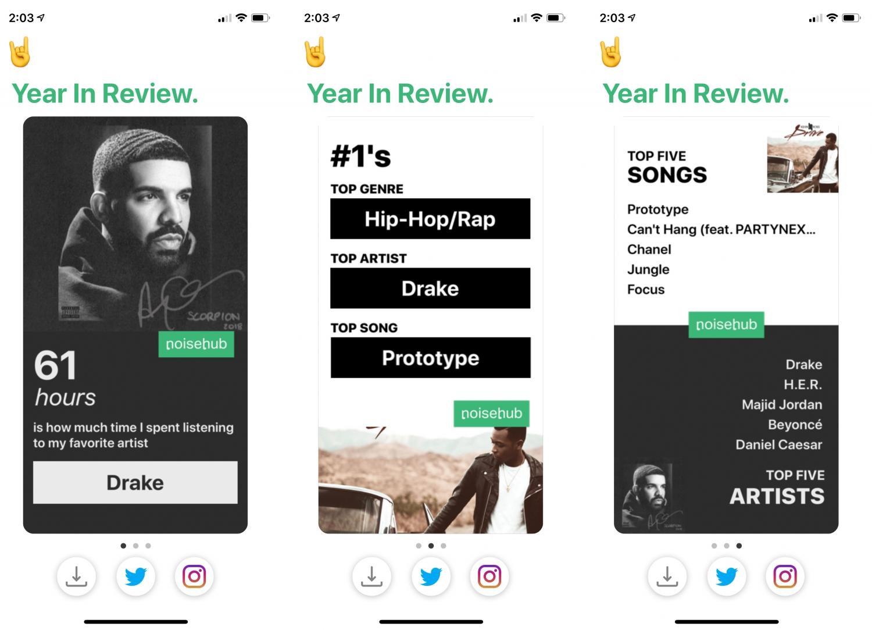 Это приложение расскажет о ваших предпочтениях в «Apple Музыке» за 2018 год1