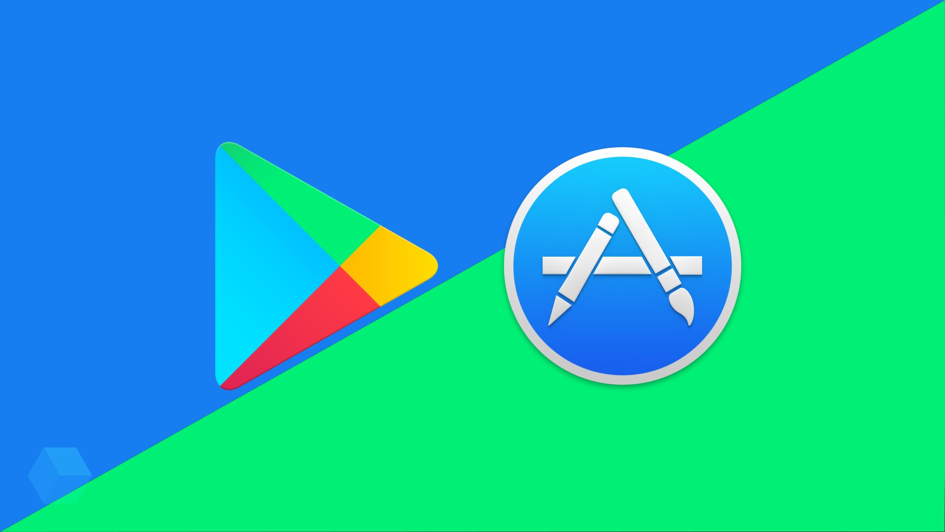 Play Маркет опережает App Store на 160% по числу загрузок