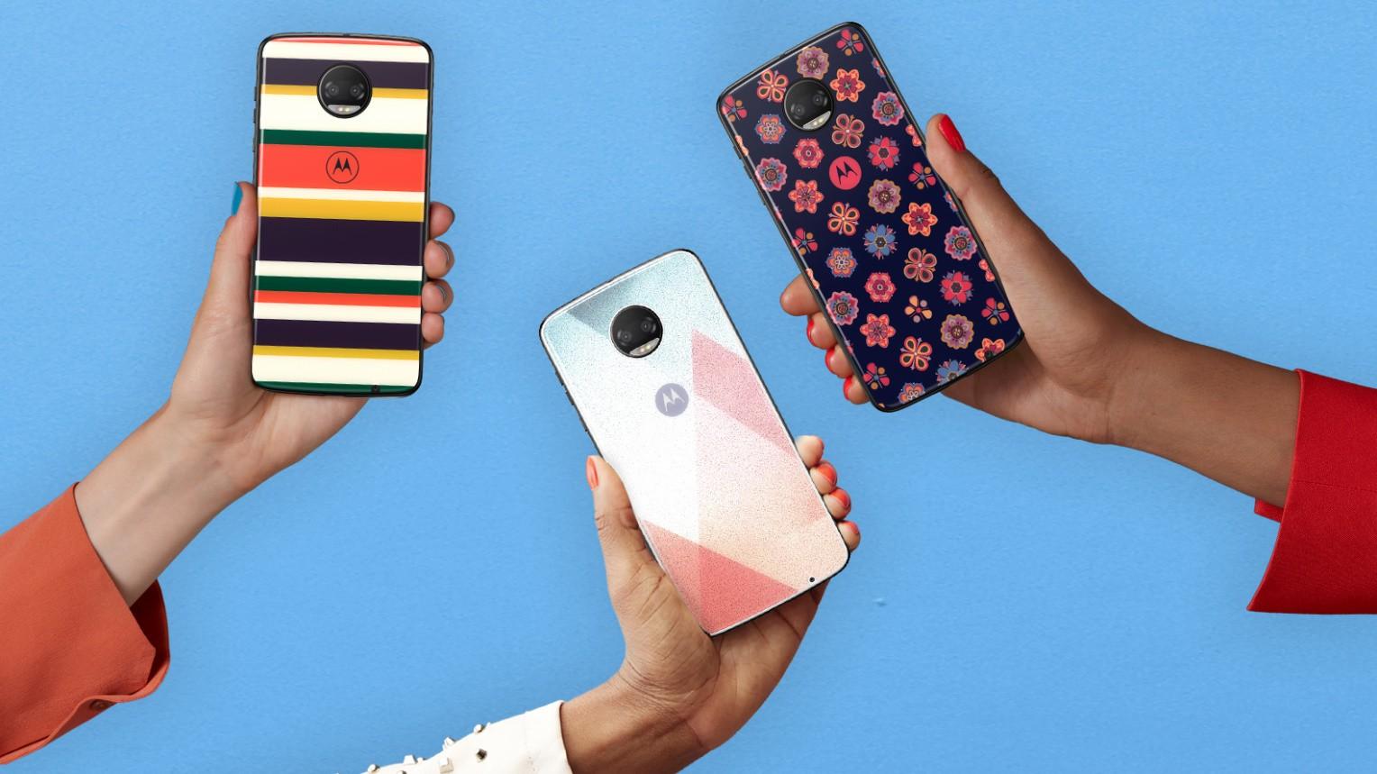 Motorola анонсировала крышки Moto Mods из стекла Gorilla Glass 5