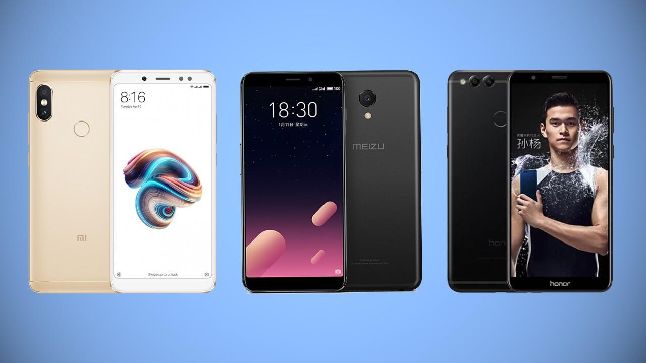 Сравнение характеристик: Xiaomi Redmi Note 5 Pro vs Meizu M6s vs Huawei Honor 7X