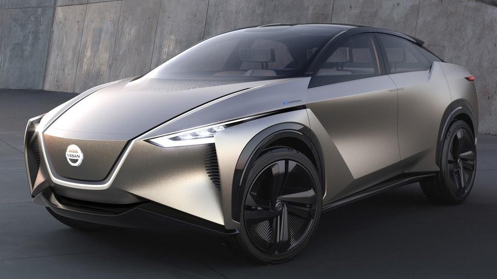 Электромобиль Nissan IMx Kuro следит за мозговой активностью водителя