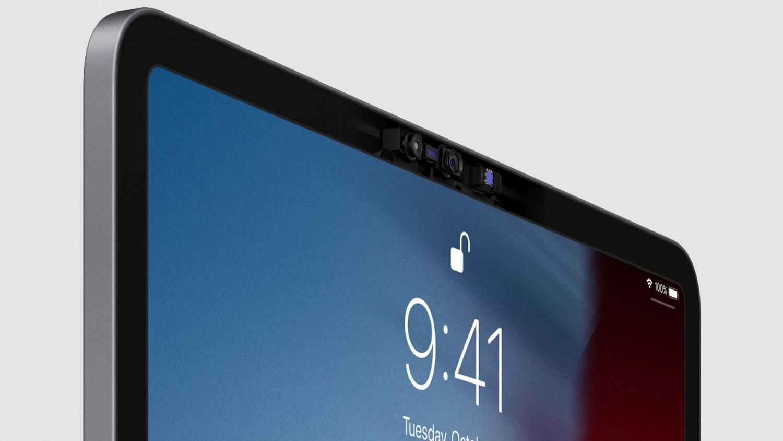 Новый патент Apple иллюстрирует iPad с вырезом под камеру