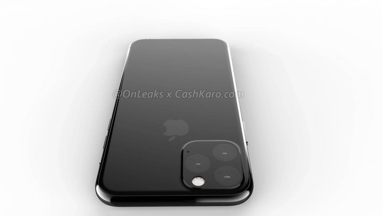 Рендеры iPhone 2019 года с камерой в форме треугольника10