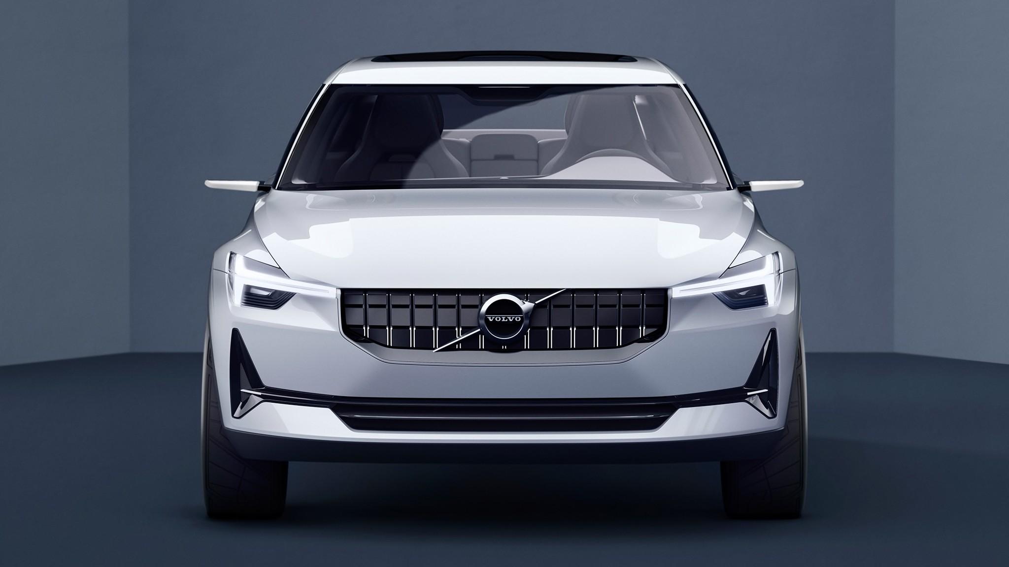 Так выглядит первый электромобиль от Volvo