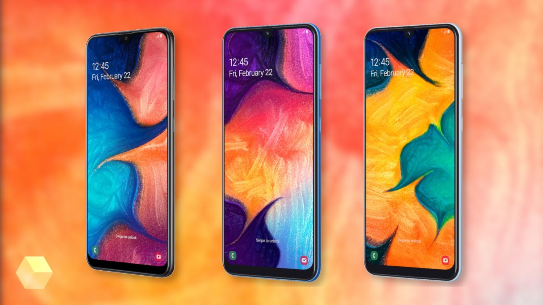 Samsung начала продажи Galaxy A50, A30 и A20 в России