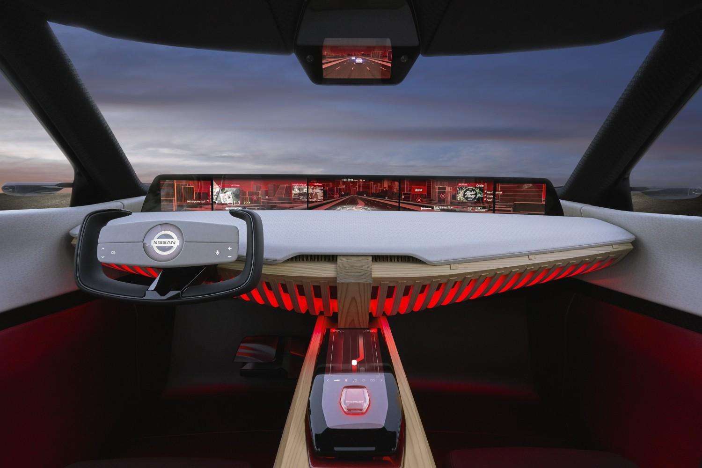 Nissan показала концепт-кар с семью экранами для управления1