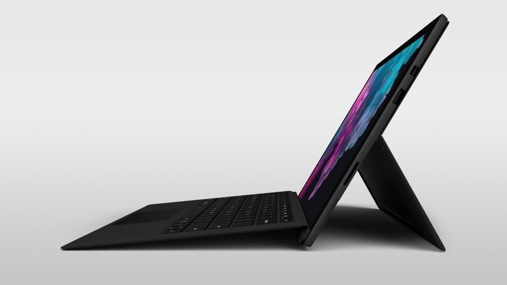 Microsoft Surface Pro 6 получил чёрный корпус и новые процессоры2