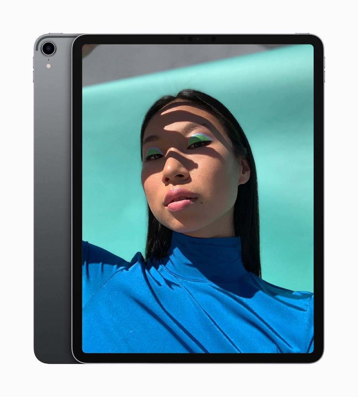 Apple представила новые iPad Pro с Face ID и узкими рамками2