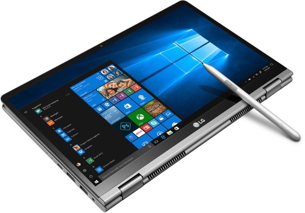 LG готовит 17-дюймовый ноутбук-трансформер Gram2