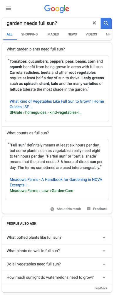 Google предложит больше быстрых ответов в поиске1